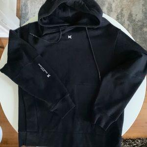 Koral Hoodie Sweatshirt Gray Black Large
